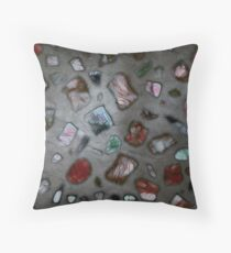 Gemstones #2 Throw Pillow