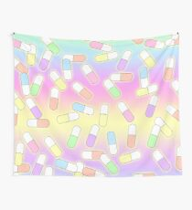 Pills and potions - pastel Wall Tapestry
