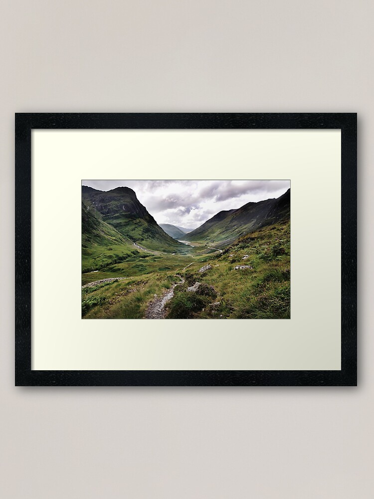 Alternate view of Glencoe, Highlands of Scotland Framed Art Print