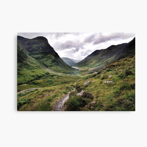 Glencoe, Highlands of Scotland Canvas Print