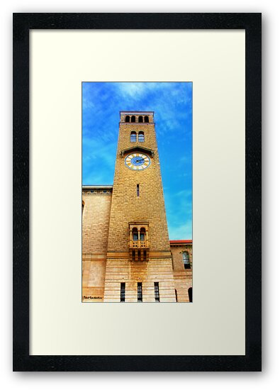 UWA Clock Tower by kostasimage