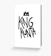 King Kunta Kendrick Lamar Tee Greeting Card