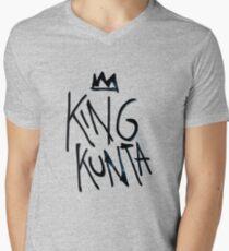 Camiseta para hombre de cuello en v Rey Kunta Kendrick Lamar Tee