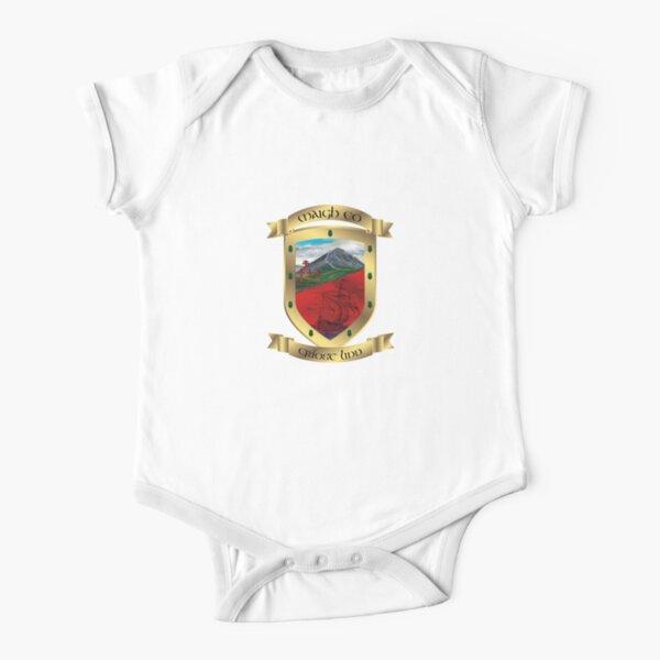 Mayo Gold Crest  Short Sleeve Baby One-Piece