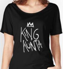 King Kunta Tee White   Kendrick Lamar Women's Relaxed Fit T-Shirt