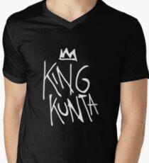 King Kunta Tee White | Kendrick Lamar Men's V-Neck T-Shirt
