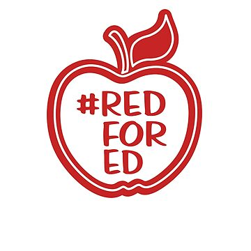 Red for Ed Sticker by ShamanShore