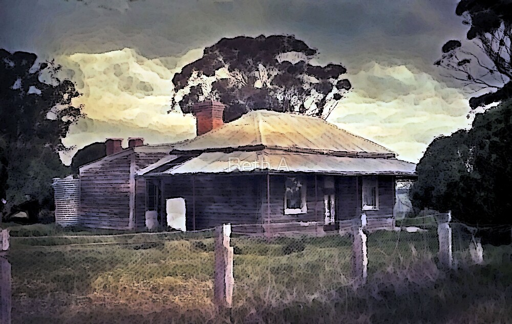 On the Road to the Grampians by Beth A