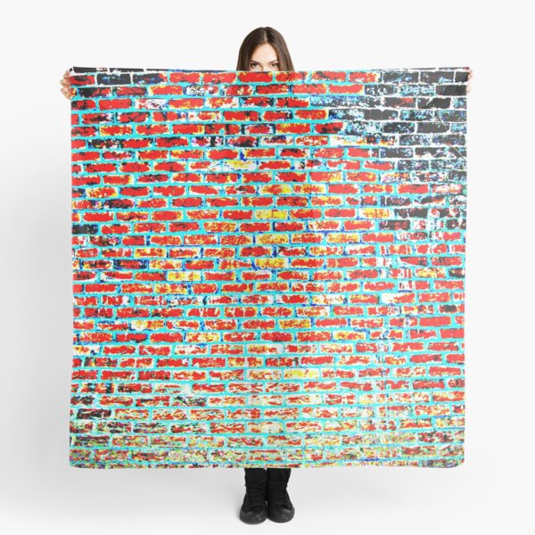 Brick Abstract Scarf