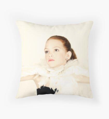 Timeless Beauty Throw Pillow