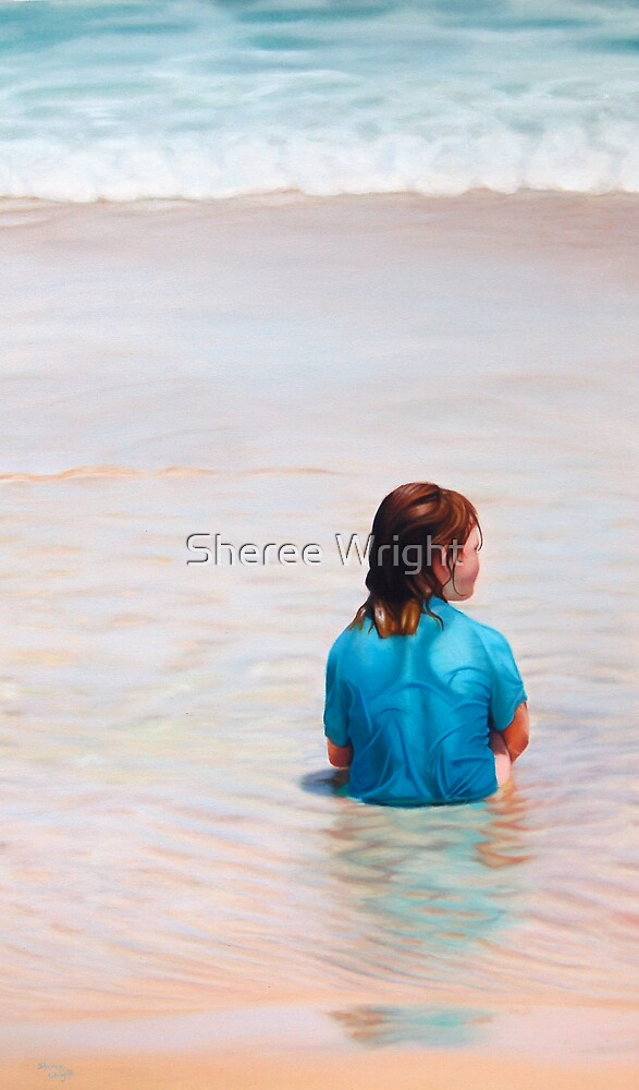 Ripples of Life - Oil on canvas by Sheree Wright