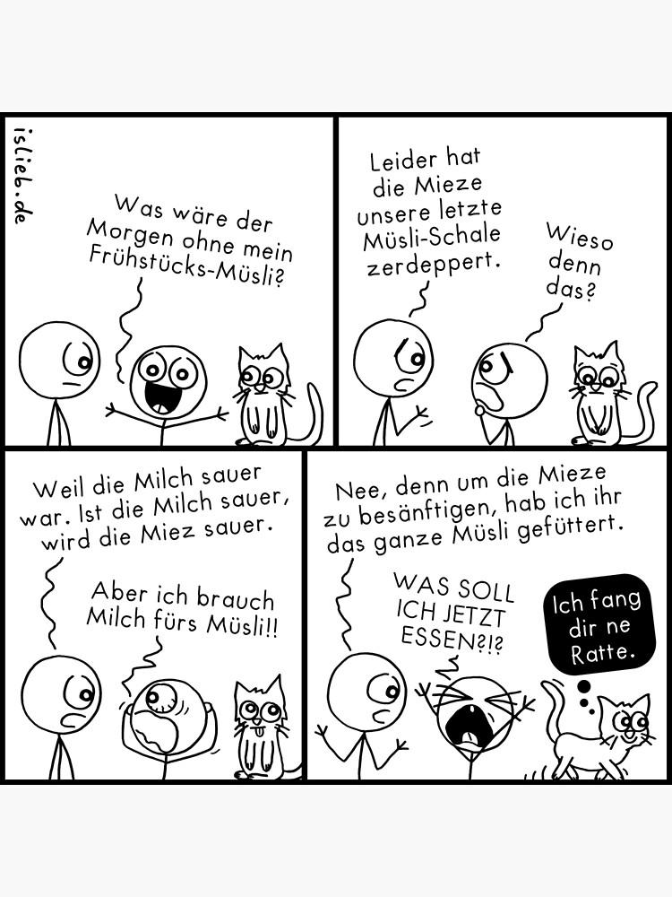 Muesli - islieb-Comic von islieb