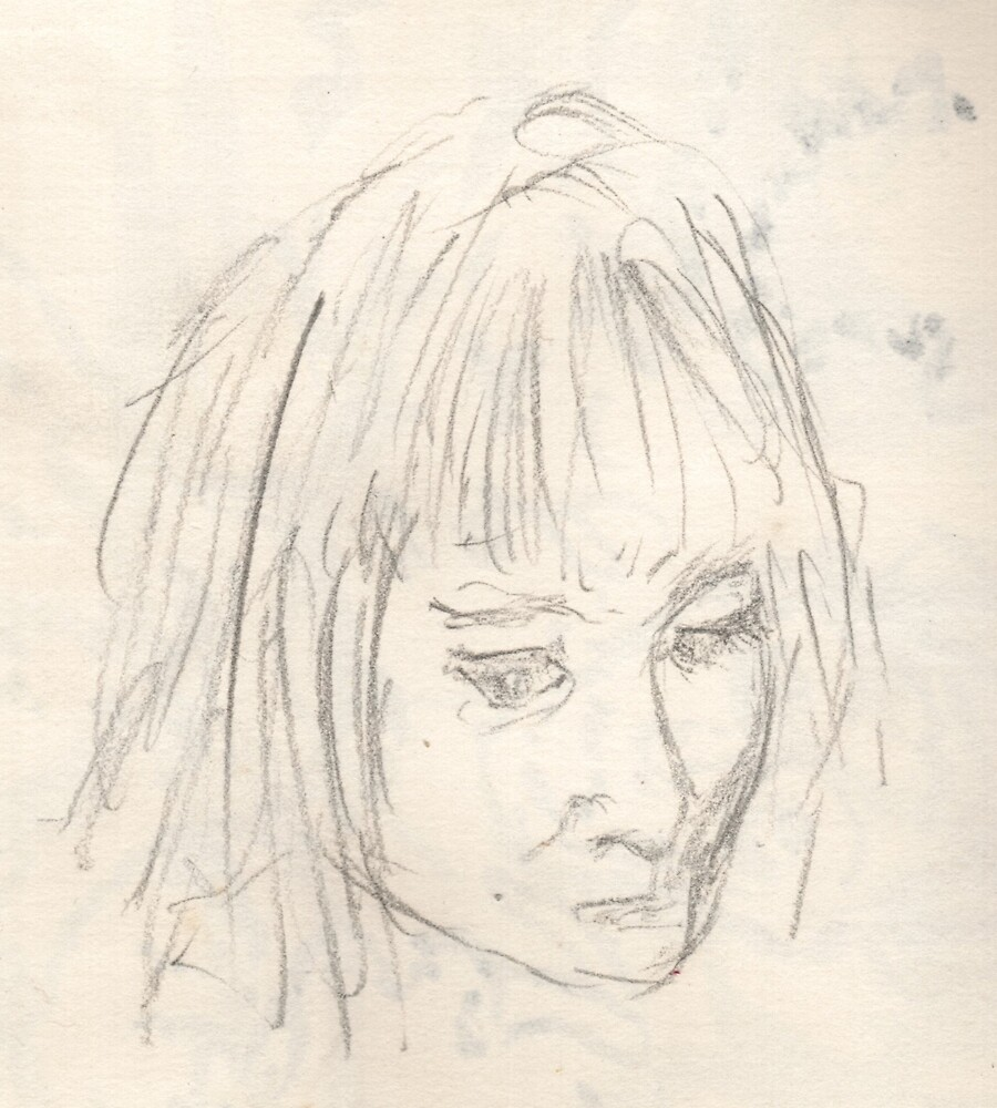 Portrait of Deb Gillett as a Young Lady by Peter Searle ( the Elder )
