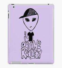 Define Reality iPad Case/Skin