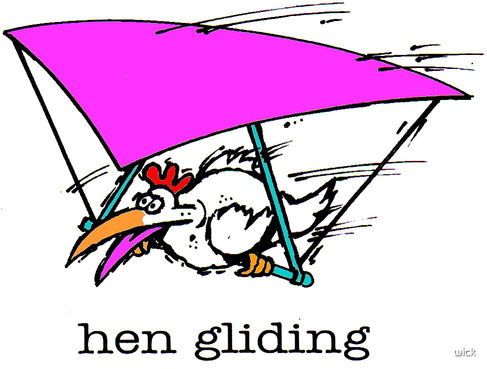hengliding by wick