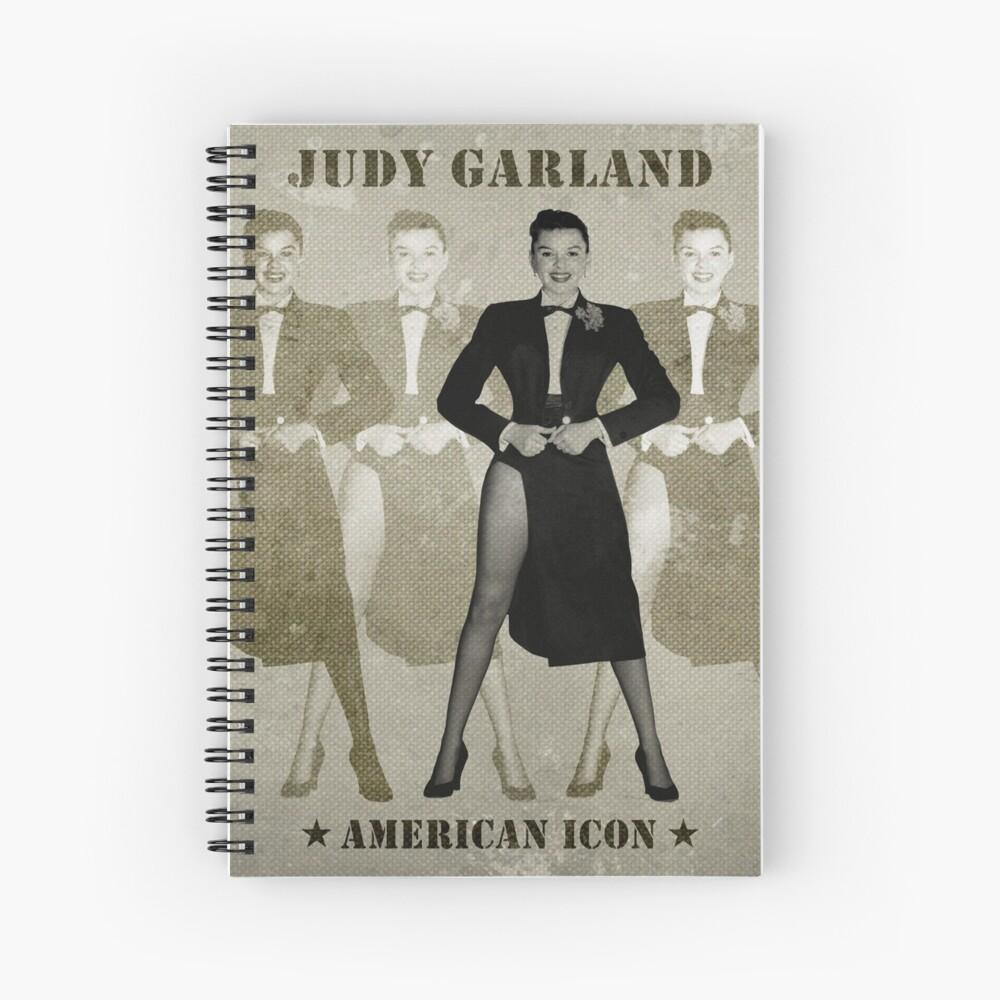 JUDY GARLAND - American Icon Spiralblock