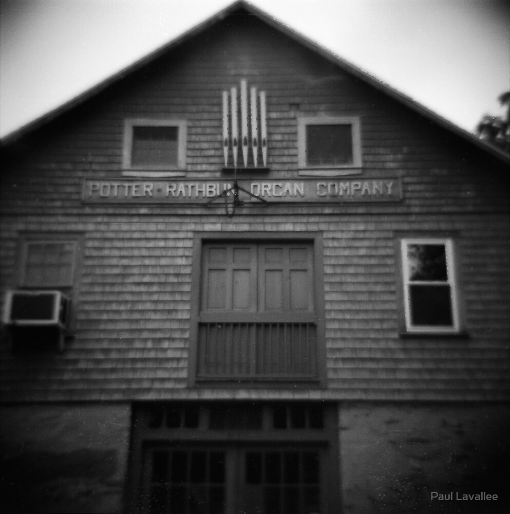 Potter-Rathbun Organ Company by Paul Lavallee