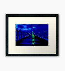 """""""Walk in The Light"""" Framed Print"""