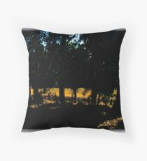Late Afternoon Leeuwin Summer Throw Pillow