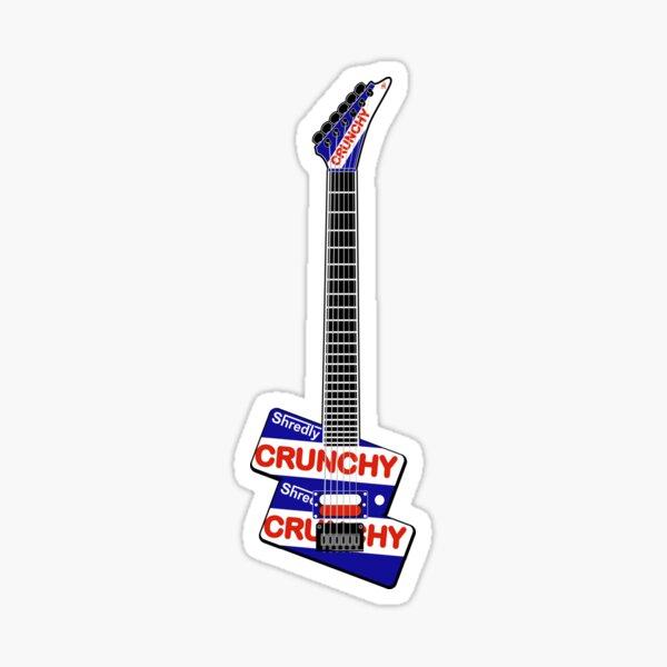 Crunchy Guitar Sticker