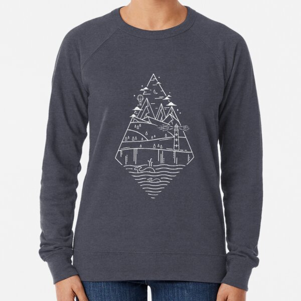 As Time Goes By Lightweight Sweatshirt