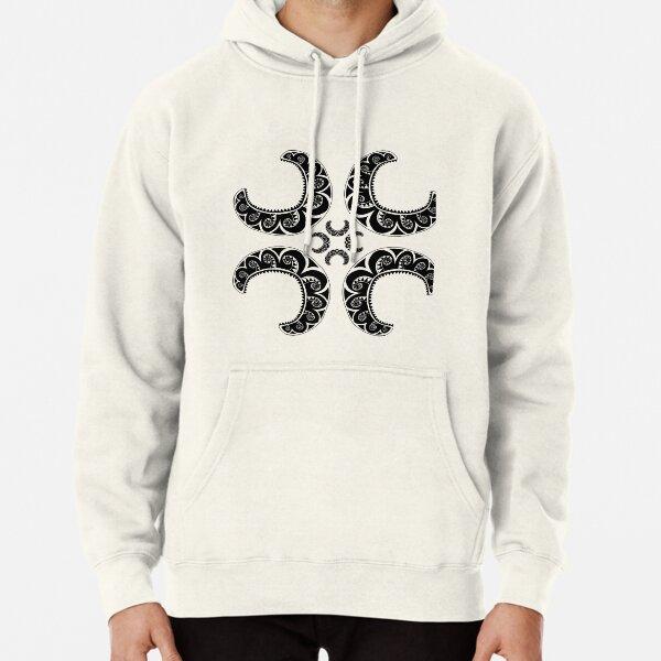 Maori Cross Pullover Hoodie