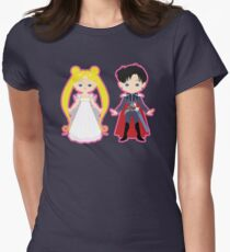 Princess Serenity and Prince Endymion Women's Fitted T-Shirt