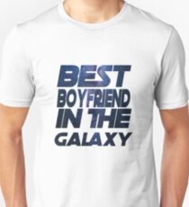 Best Boyfriend in the Galaxy Trends T-Shirt Birthday Unisex T-Shirt