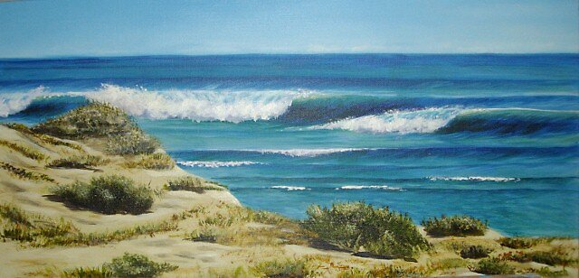 Sand and Sea by Mandy Roach