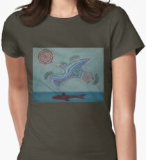 Duck! Women's Fitted T-Shirt