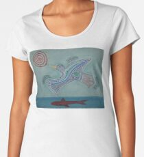 Duck! Women's Premium T-Shirt