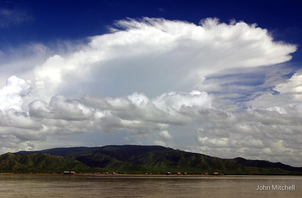 The Upper Irrawaddy, Burma by John Mitchell