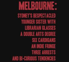 MELBOURNE - BESPECTACLED YOUNGER SISTER