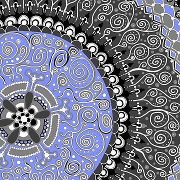 Mandala 1 by CTWuellner