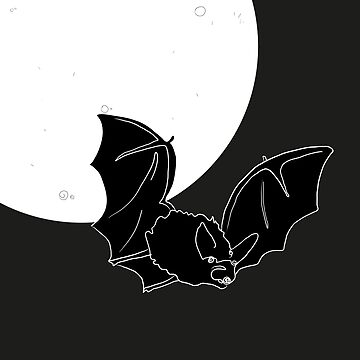 Bat in the night by isabelrb
