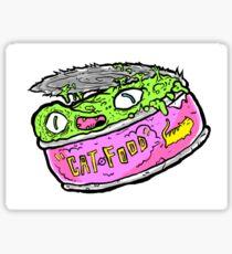 Cat Food Can Friend Edition Sticker