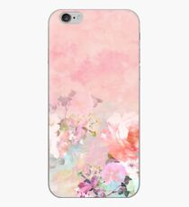 Pastell erröten Aquarell Ombre Blumenaquarell iPhone-Hülle & Cover