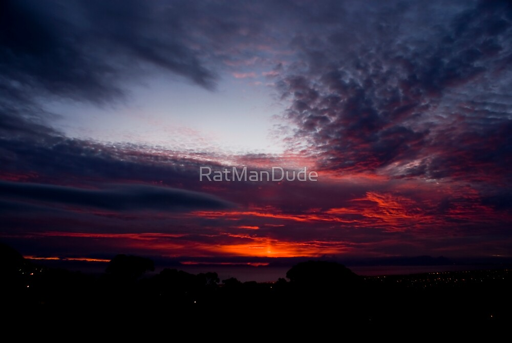 Sunset Spectacular by RatManDude