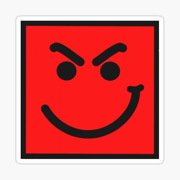Smirk Face Bon Jovi Sticker