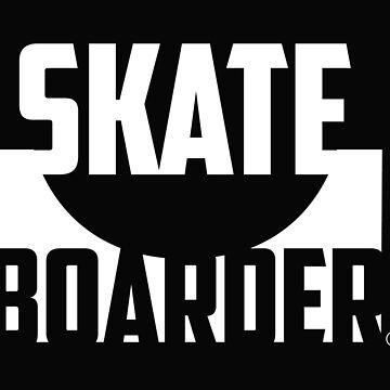 Skatebord by morney