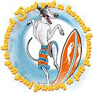 Surfin' Hound by Andrew Ledwith