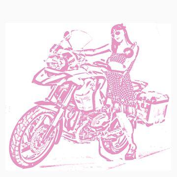 Biker Chick by Lixi