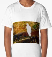 Cattle egret Long T-Shirt