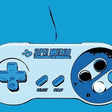 Super Nintendo controller by E-Maniak