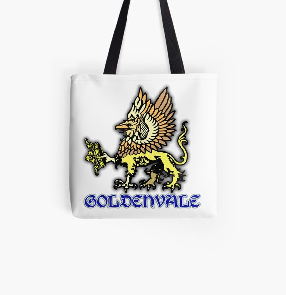 Goldenvale Pride All Over Print Tote Bag