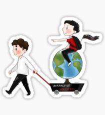 interactive introverts Sticker
