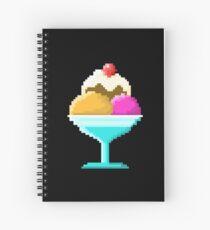 Cahiers à Spirale Sur Le Thème Crème Glacée Pixel Art