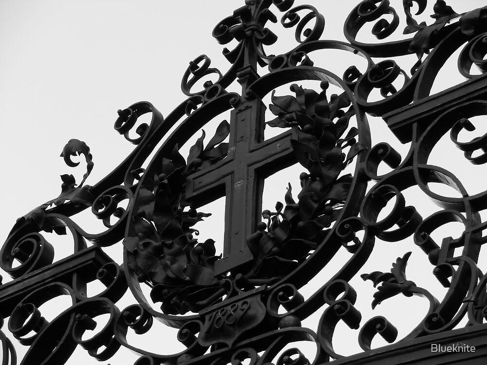 Harvard Gate II by Blueknite