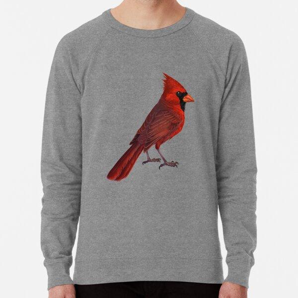 Cute Cardinal Gift For Forest Camp Trip Lightweight Sweatshirt