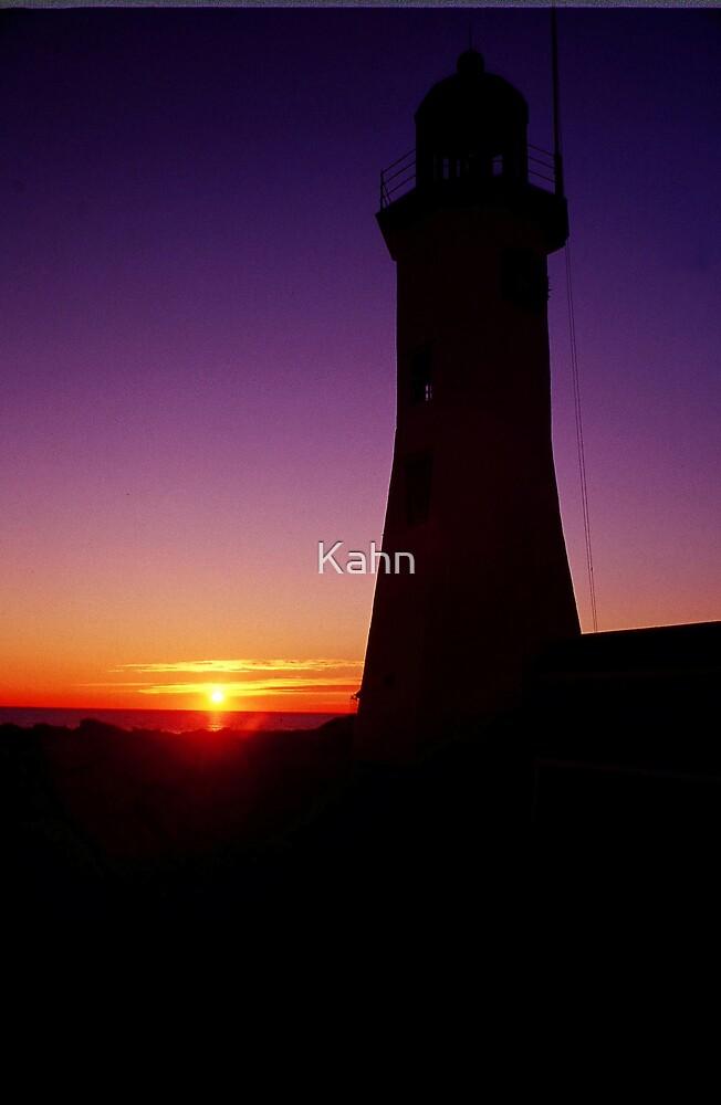 Sunrise Scituate Light by Kahn